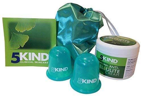 Set Coppette Anticellulite e Crema professionale Anticellulite 5kind