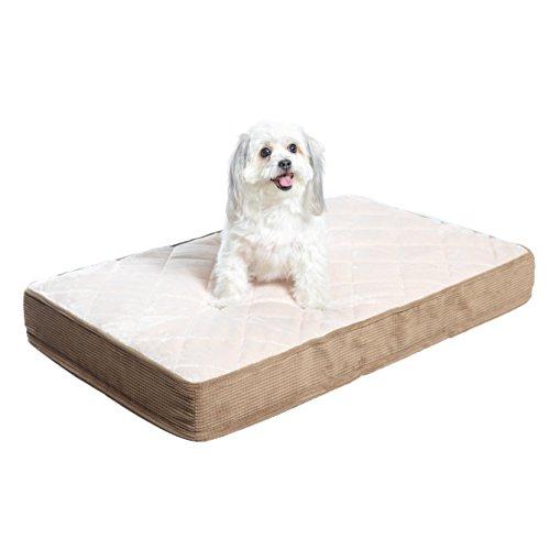 Milliard gepolstertes orthopädisches gestepptes Bett / Haustierbett Klein 89 cm x 55 cm x 10 cm