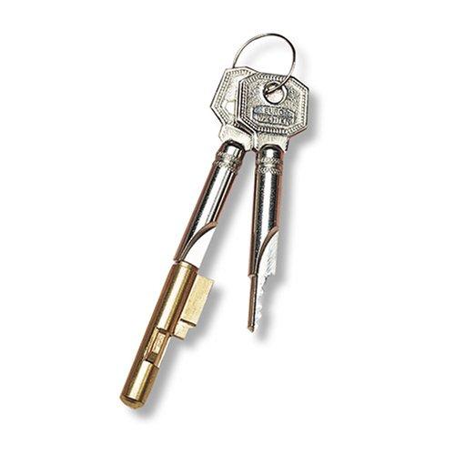 BURG WÄCHTER E 7 Burg Schlüssellochsperrer E7, verschiedensperrend, mit 2 Schlüsseln