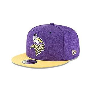 New Era NFL Minnesota Vikings Authentic 2018 Sideline 9FIFTY Snapback Home Cap, Größe :M/L
