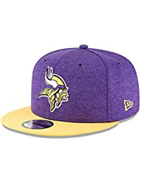 a2a5f2aa53159 New Era NFL Minnesota Vikings Authentic 2018 Sideline 9FIFTY Snapback Home  Cap