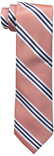 Nautica (NAV5C) Herren Krawatte Bilge gestreift - Orange - Einheitsgröße - Nautica Gestreifte Krawatte