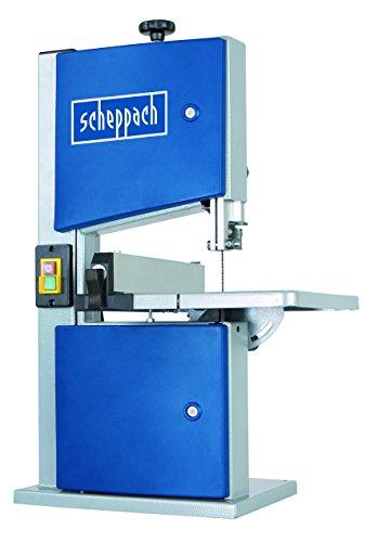 Scheppach Bandsäge HBS20, Säge mit kraftvollem Induktionsmotor, Längsanschlag, robuster Stahlkonstruktion, großer Durchlasshöhe und Schnellverschluss - 3