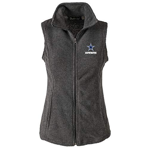 L Houston Damen Fleece-Weste, Damen, Lady Houston, grau, 2X ()