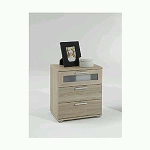 Chevet 3 tiroirs Swithome Jack Chêne