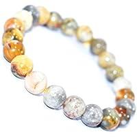 Bracelet Crazy Lace Agate 8 MM Birthstone Handmade Healing Power Crystal Beads preisvergleich bei billige-tabletten.eu
