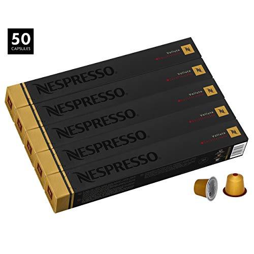 50 Nespresso Capsulas Café Volluto Decaf