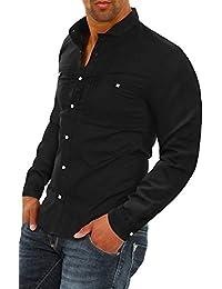 Carisma Herren Langarmhemd Freizeithemd Elegant Business Hemd