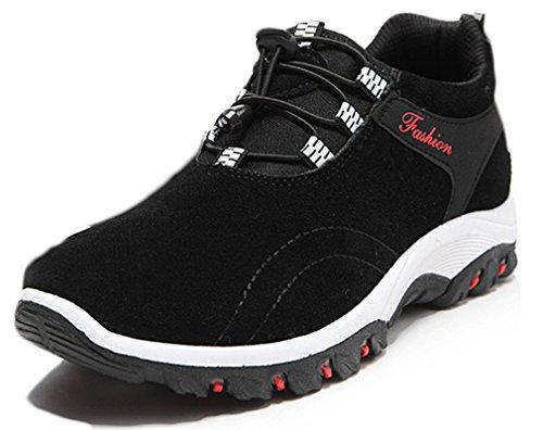 NEWZCERS escursioni scarpe da ginnastica alpinismo diresistenza degli uomini calza i pattini turistiche Nero