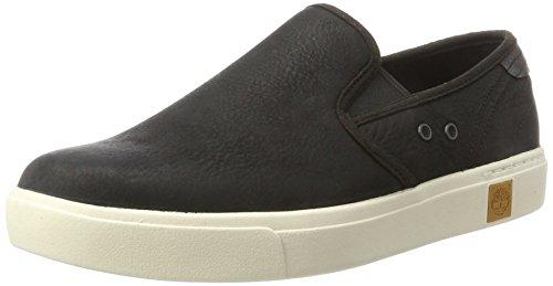Timberland Amherst Sensorflex, Zapatos de Cordones Oxford para Hombre, Negro (Black Galloper 001), 43 EU