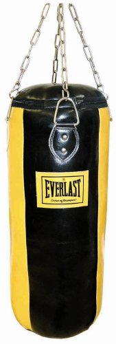 Everlast 3076 - Saco de 4 paneles, color amarillo / negro