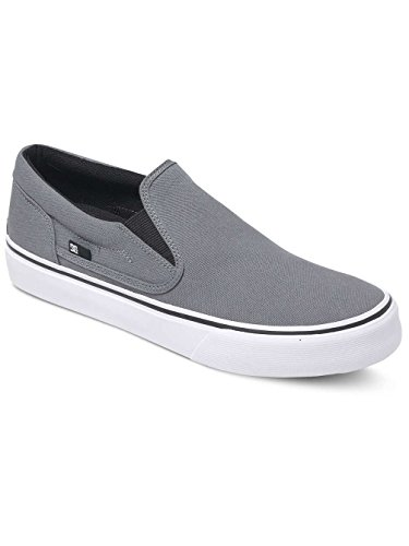 DC Shoes Trase Tx, Baskets Basses Femme Grey
