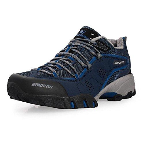 Showlovein , Chaussures de pêche pour homme bleu foncé