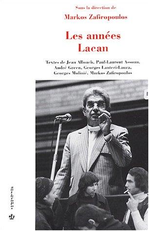 Les Années Lacan