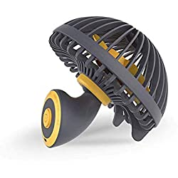 XIAOJINYU Small ventilateur USB de bureau, petit ventilateur de champignon lavable, ventilateur de refroidissement personnel ultra-silencieux et venteux, ventilateur personnel ajustable à 45 ° et sile