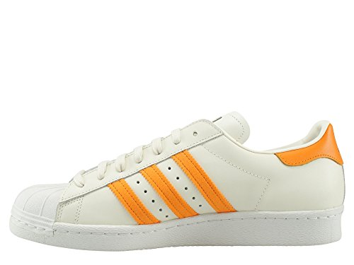 Adidas Superstar 80s chaussures beige orange