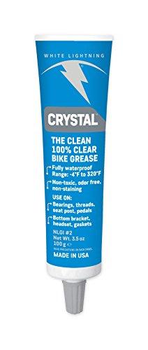 White Lightning Fett Crystal Clear Grease 100g Tube, 4001936