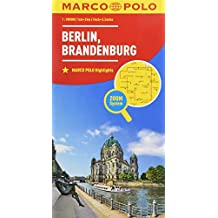 MARCO POLO Karte Deutschland Blatt 4 Berlin, Brandenburg 1:200 000 (MARCO POLO Karten 1:200.000)