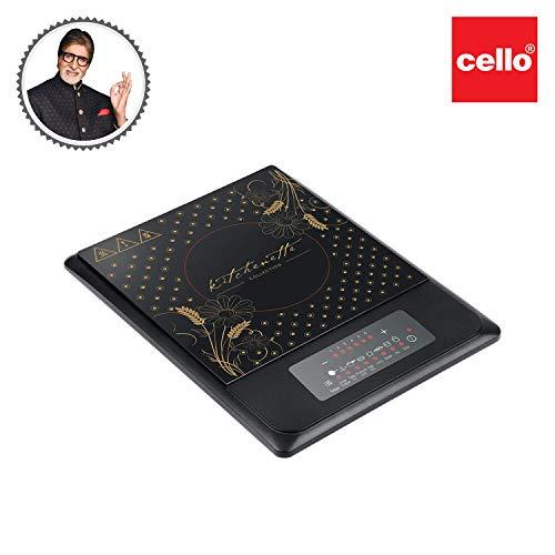 Cello CLO_IC_BLZ700B_BLK 1600-Watt Induction Cooker (Black)