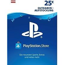 PSN Card-Aufstockung | 25 EUR | österreichisches Konto | PSN Download Code