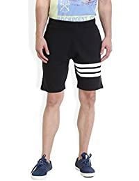 Rocx Mens Shorts – Comfortable Easy To Wash Track Shorts For Men – Stylish Mens Shorts Casual - Stripes Shorts