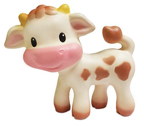 BKids Frankreich Rassel Kuh weiß/braun