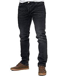 Reslad Jeans-Herren Slim Fit Basic Style Stretch-Denim Jeans-Hose RS-2063