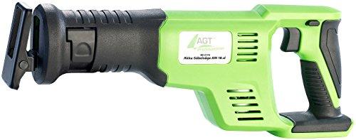 AGT Professional Akkusäge: Akku-Säbelsäge AW-18.sl, GS-zertifiziert, 18 V (ohne Akku) (Stichsäge) - 2