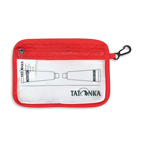 Tatonka Uni Zip Flight Bag Sacs A6, Transparent, 16 x 12 cm