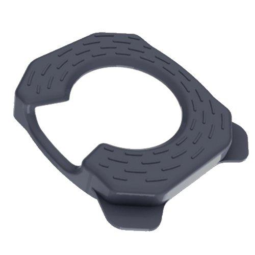 Keep On Kovers Copri tacchette scarpe da ciclismo, colore: Nero