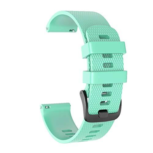 TianranRT 20Mm Watchband Wriststrap Large Silikon Armbanduhr Ersatz Armbanduhr Für Suunto 3 Fitness (Large Size)
