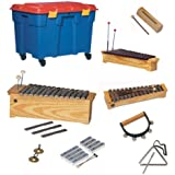 Lote instrumentos material didáctico (baúl incluido)