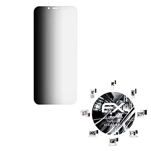 atFolix Blickschutzfilter kompatibel mit Allview X4 Soul Infinity S Blickschutzfolie, 4-Wege Sichtschutz FX Schutzfolie