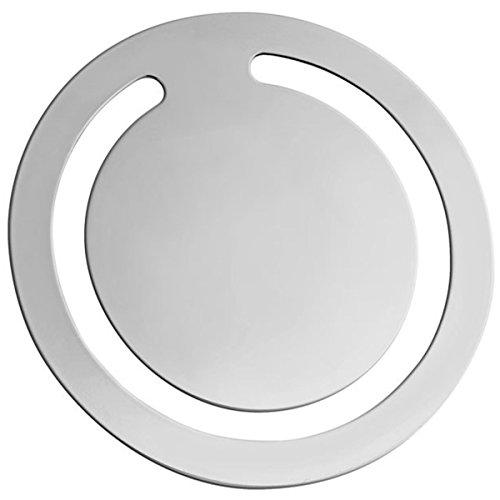 mer Hamburg 4,5 cm Silber Plated versilbert (Weihnachts-lesezeichen)