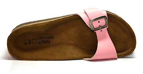 Naot 07004 Sahara Damen Pantoletten Pink (Blush)