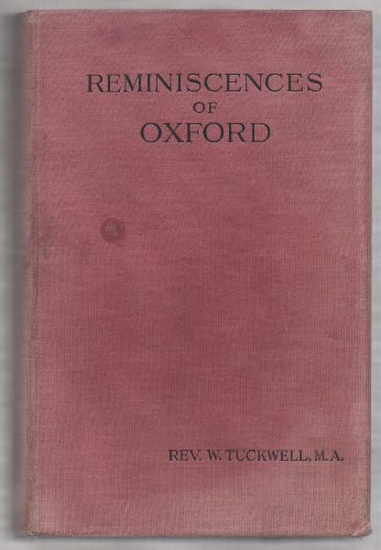 Reminiscences of Oxford.