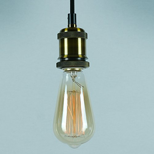 vintage-pendant-light-kit-antique-industrial-brass-finish-lamp-holder-fabric-cord-ceiling-rose-the-r