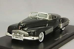 Buick Y-Job, noire, 1938, voiture miniature, Miniature déjà montée, Neo 1:43