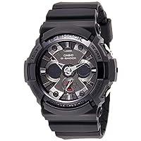 Casio Mens Quartz Watch, Analog-Digital Display and Resin Strap GA-201-1ADR