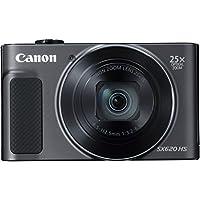 Canon Powershot Sx620 Hs Fotoğraf Makinesi, Full HD (1080p), Siyah