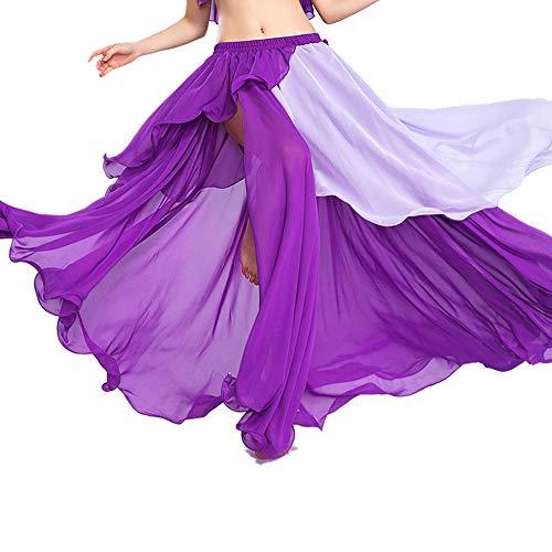 780eebc8be139 ROYAL SMEELA Gonna di Danza del Ventre Abbigliamento da Ballo Donna Gonne  in Chiffon Moda Luce