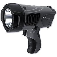 LiteXpress LXL601006 LXSP102 Projecteur manuel 1 LED Cree forte puissance jusqu'à 500 lumens/portée jusqu'à 620 m/durée jusqu'à 81 h Performances aux normes ANSI Gris (Import Allemagne)