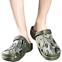 Sandalias para Hombre Cebbay Unisex Playa Sandalias del Acoplamiento Zapatillas De Verano Ligeros
