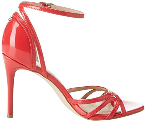 Guess Damen Footwear Dress Sandal Riemchen Pumps Rosso (Medium Red)