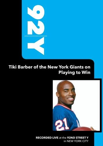 Preisvergleich Produktbild 92Y-Tiki Barber of the New York Giants on Playing to Win (January 10,  2006)