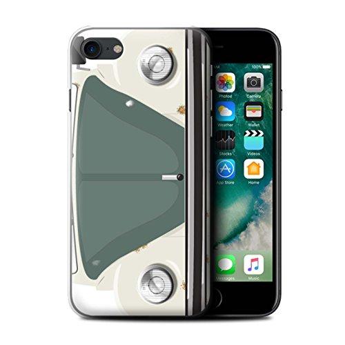 Coque de Stuff4 / Coque pour Apple iPhone 7 / Rayures Course Design / Rétro Coccinelle Collection Vieille Bagnole