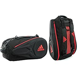 adidas padel - Racket Bag Adipower CTRL, color rojo ,negro