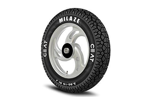 ceat milaze p90/100 - 10 bias tubeless scooter tyre Ceat Milaze P90/100 – 10 Bias Tubeless Scooter Tyre 41CSHyL2sOL