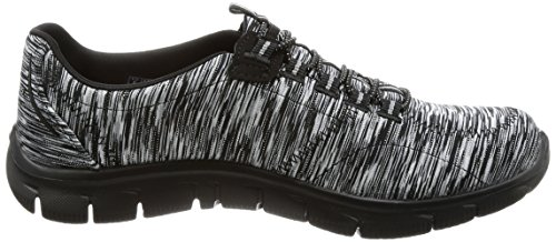 Skechers Damen Empire-Game On Slip Sneaker Black