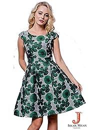 Suchergebnis Auf Amazonde Für Brokat Kleider Damen Bekleidung